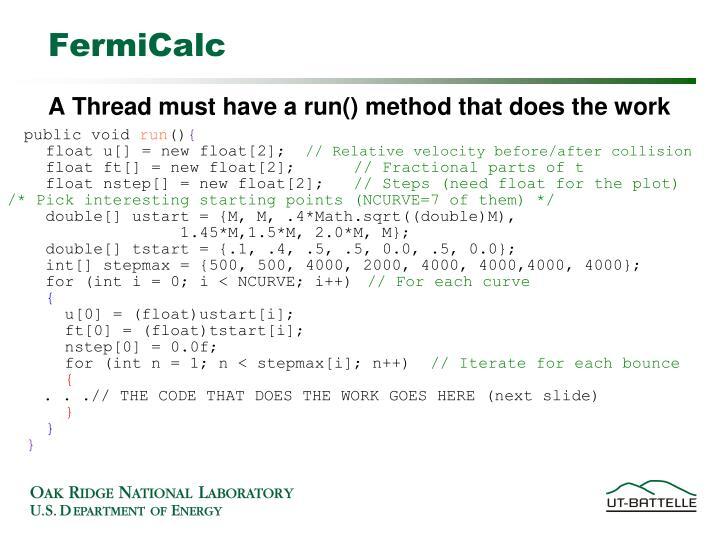FermiCalc