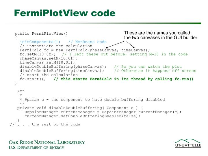 FermiPlotView code