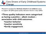 core drivers of early childhood systems change14