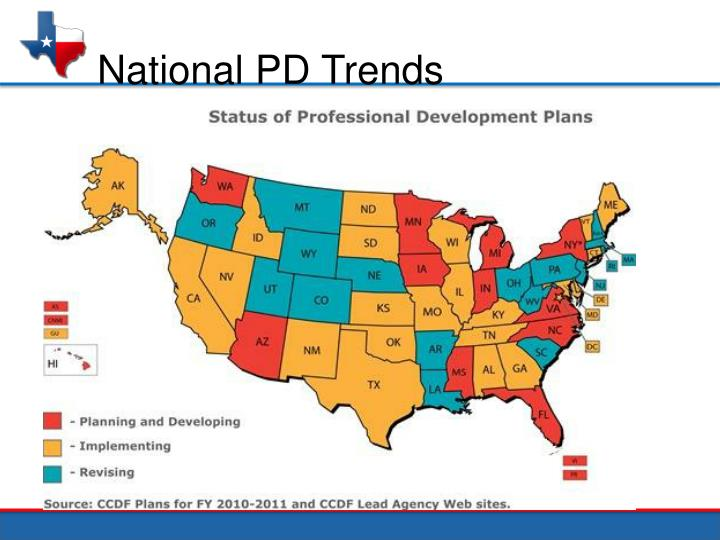 National PD Trends