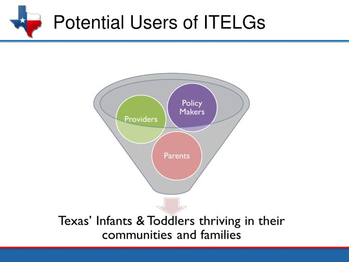 Potential Users of ITELGs