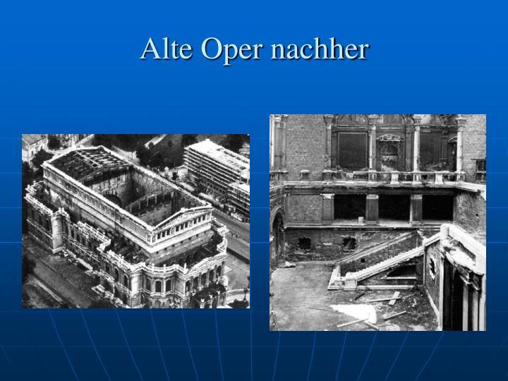 Alte Oper nachher