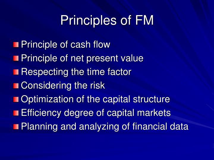 Principles of FM