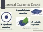 internal capacitor design