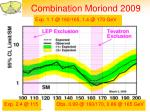 combination moriond 2009