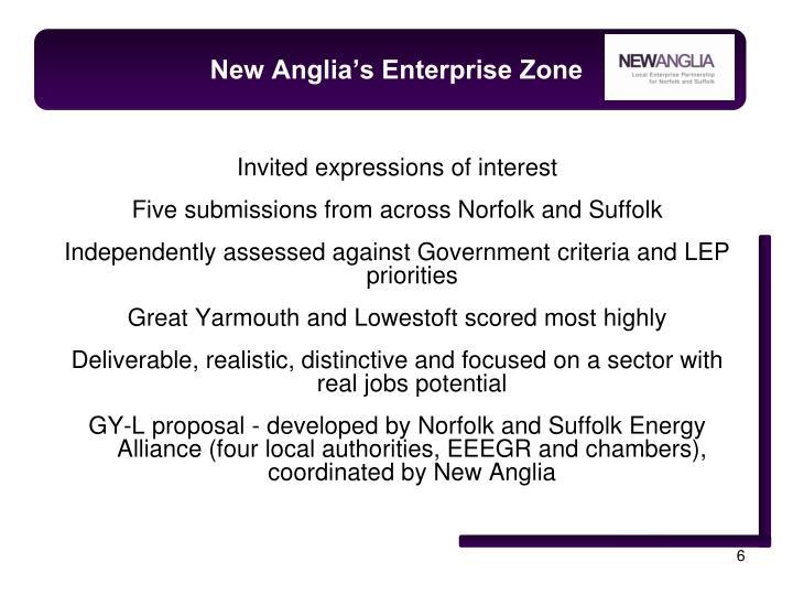 New Anglia's Enterprise Zone