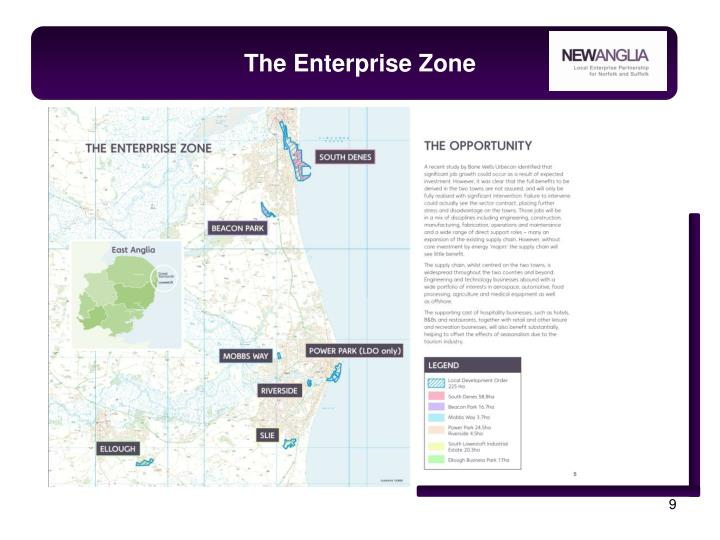 The Enterprise Zone