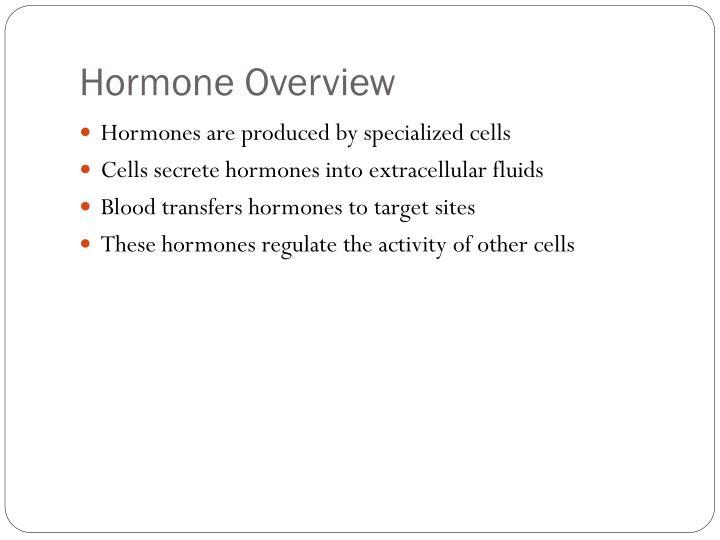 Hormone Overview