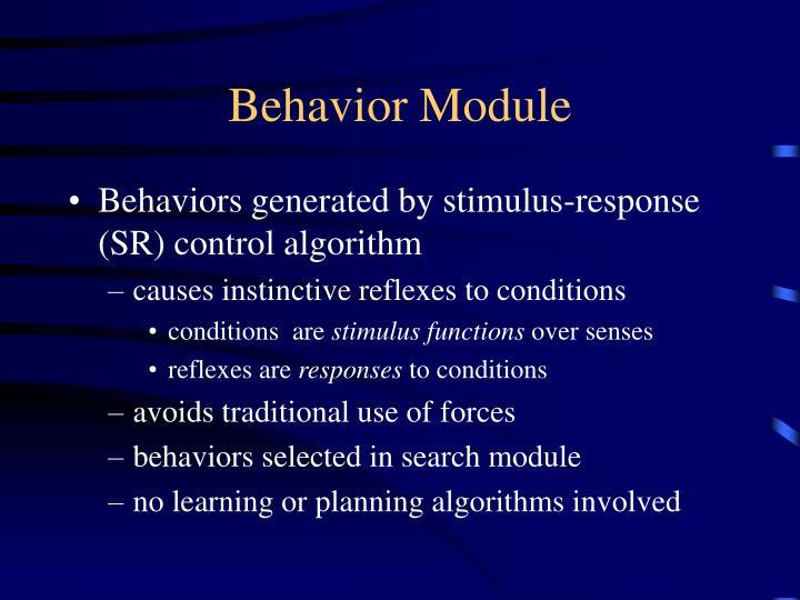 Behavior Module