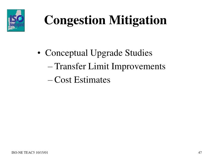 Congestion Mitigation