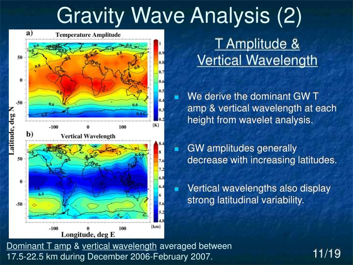 Gravity Wave Analysis (2)