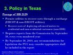 3 policy in texas1