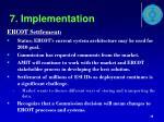 7 implementation7
