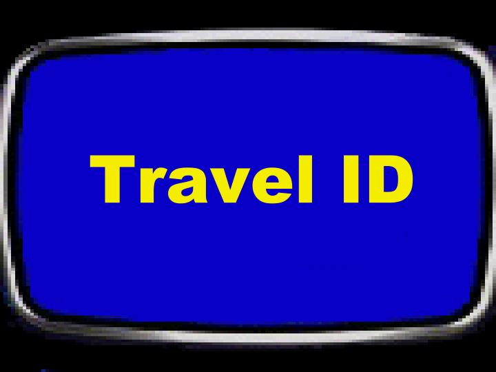 Travel ID