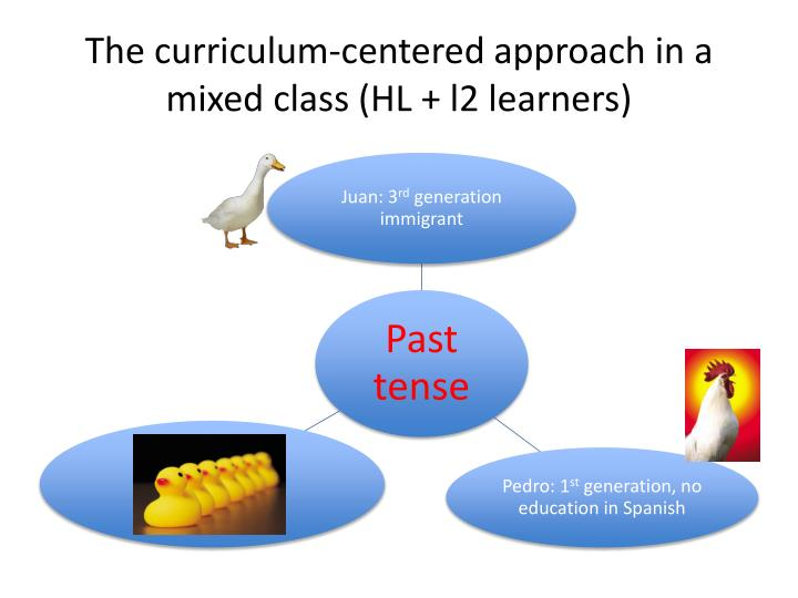 The curriculum-centered approach