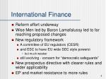 international finance7