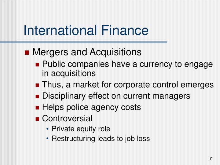 International Finance