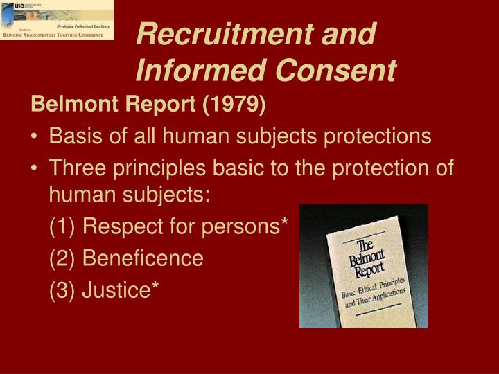 Recruitment and Informed Consent
