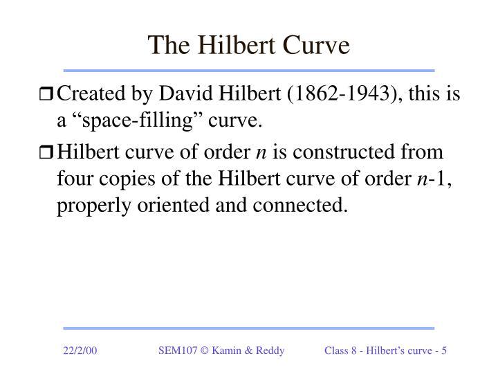 The Hilbert Curve