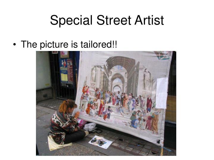 Special Street Artist