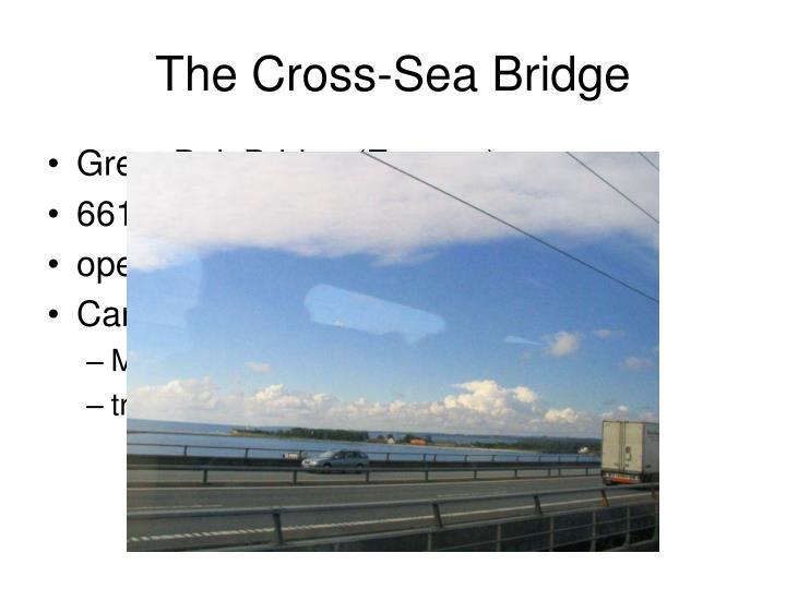 The Cross-Sea Bridge