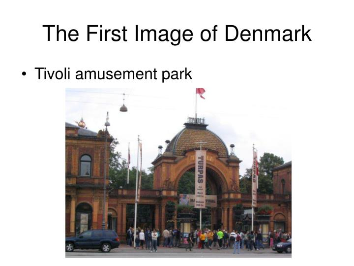 The First Image of Denmark