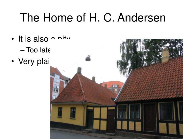 The Home of H. C. Andersen