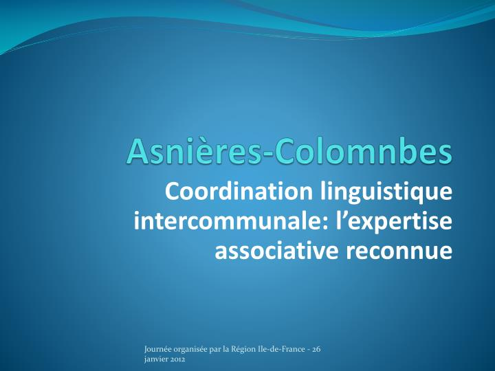 Asni res colomnbes