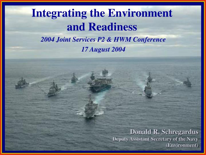 2004 Joint Services P2 & HWM Conference