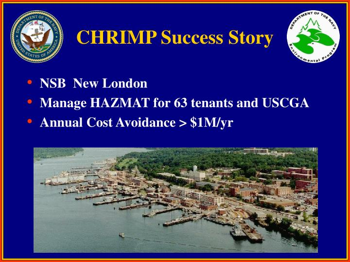 CHRIMP Success Story