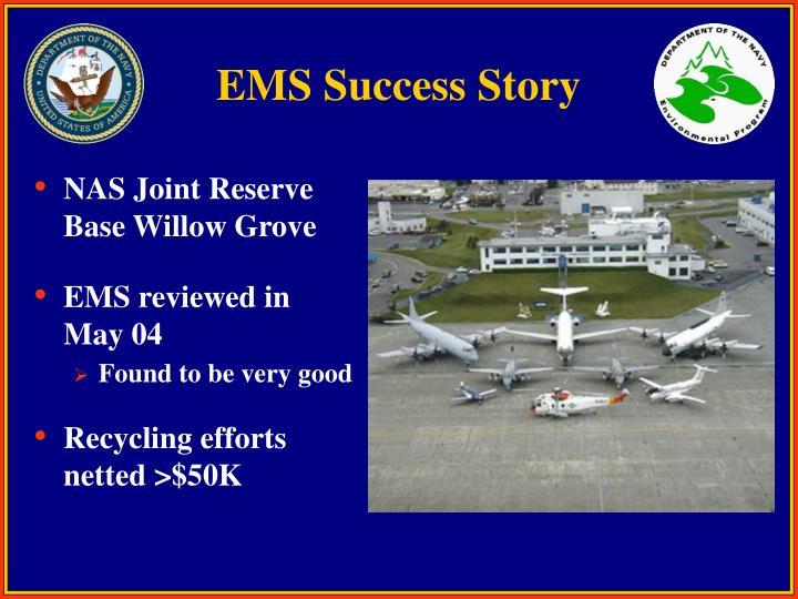 EMS Success Story