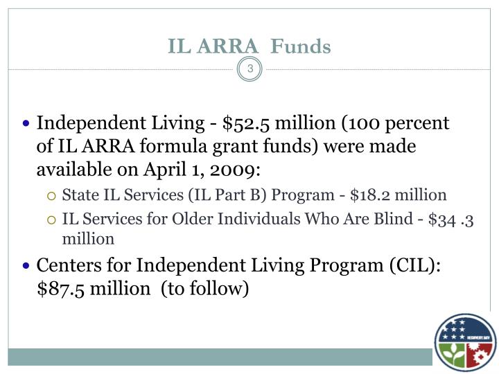IL ARRA  Funds