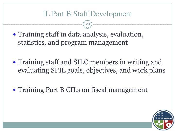 IL Part B Staff Development