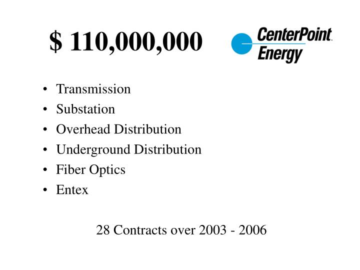 $ 110,000,000