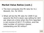 market value ratios cont1