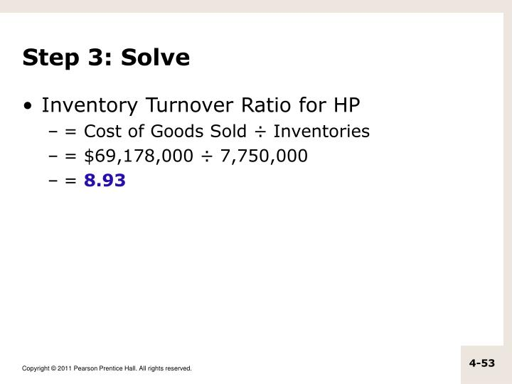 Step 3: Solve