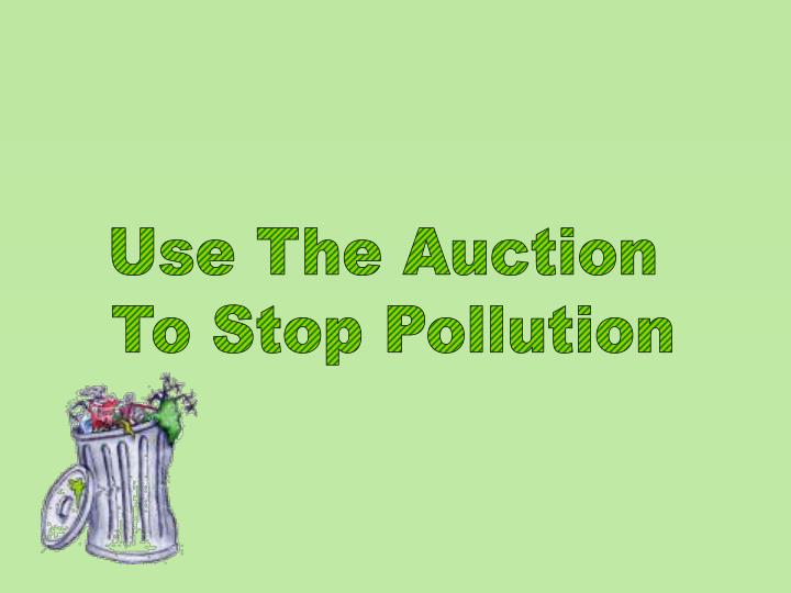 Use The Auction