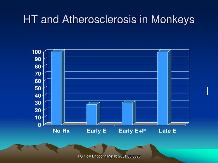 HT and Atherosclerosis in Monkeys