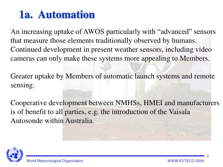 1a.  Automation