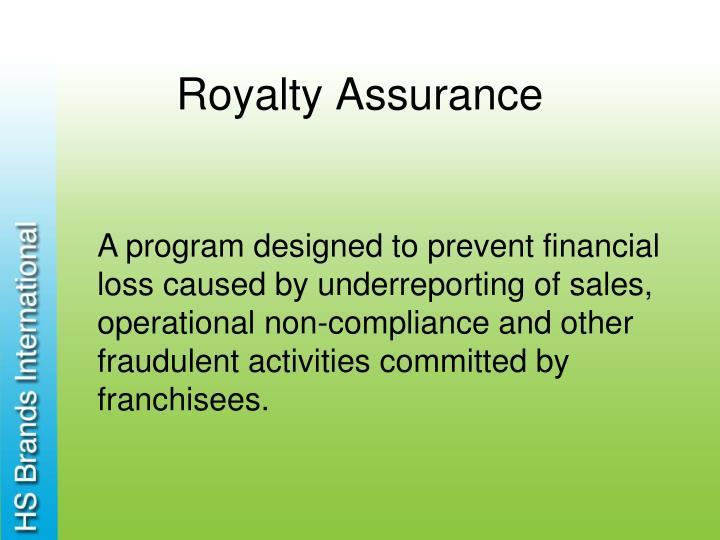 Royalty Assurance
