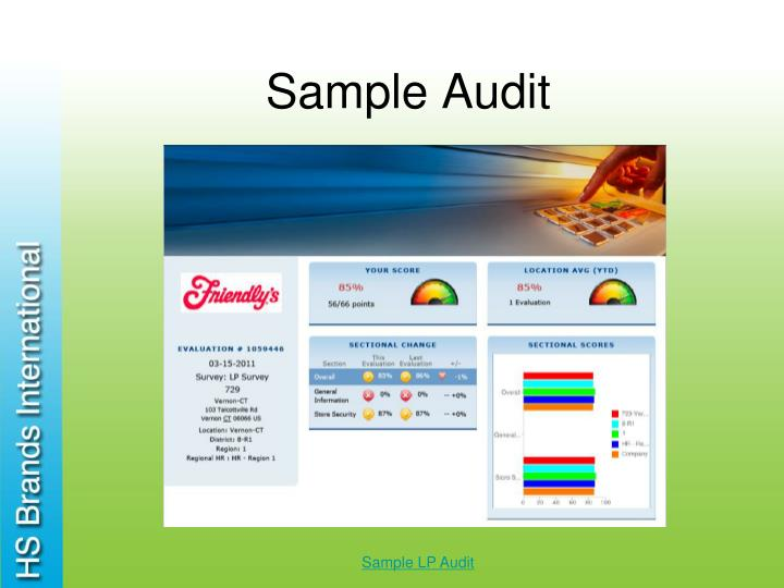 Sample Audit