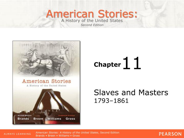 Slaves and masters 1793 1861