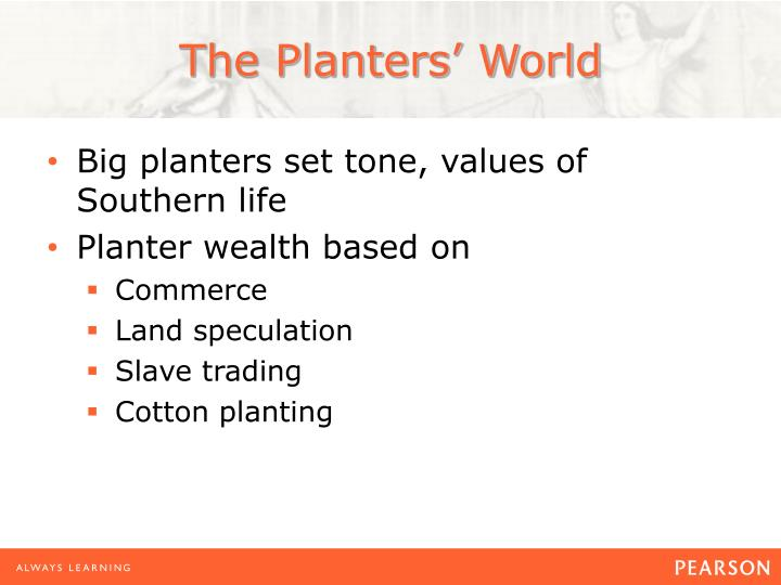 The Planters' World