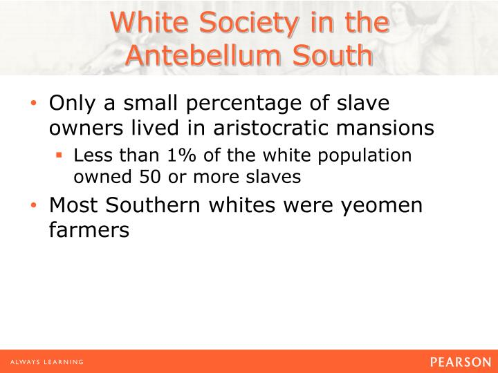 White Society in the