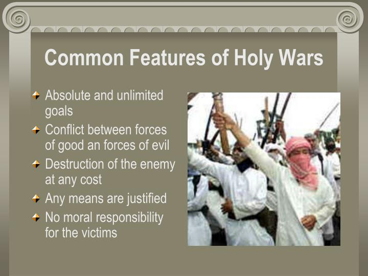 Common Features of Holy Wars