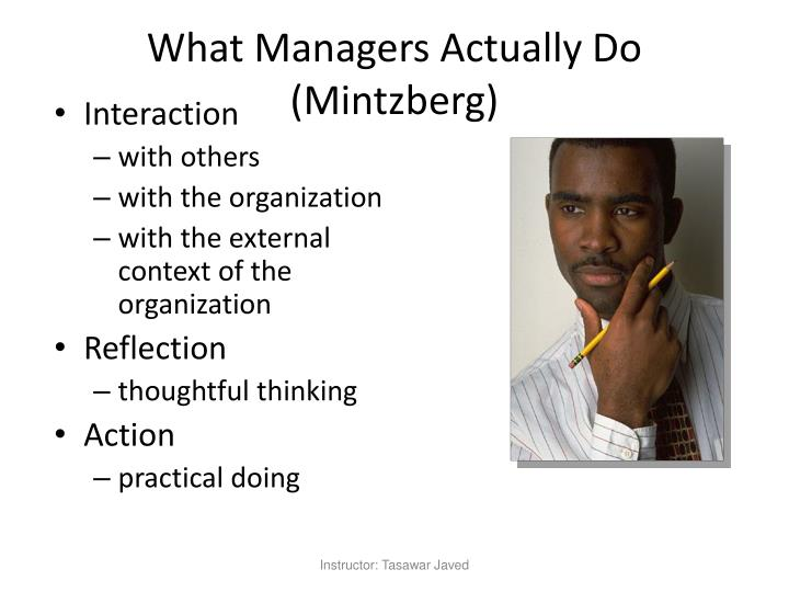 What Managers Actually Do (Mintzberg)