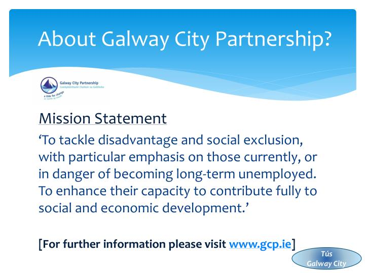 About Galway City Partnership?
