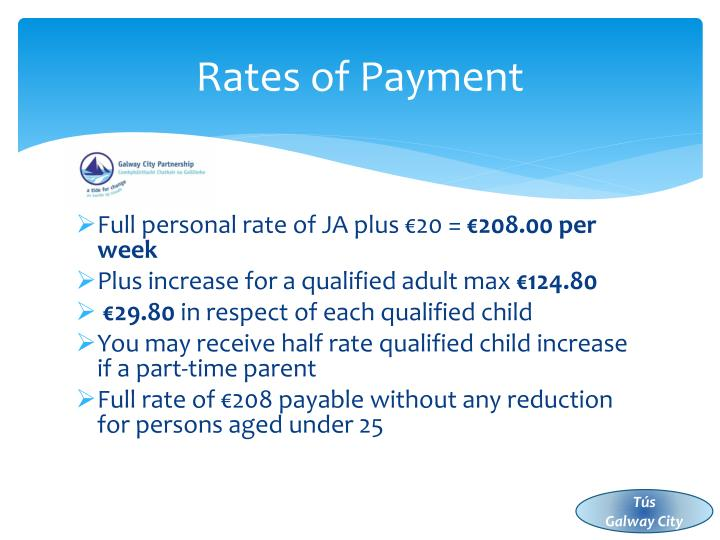 Rates of Payment