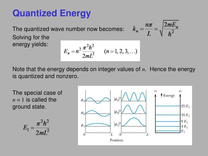 Quantized Energy