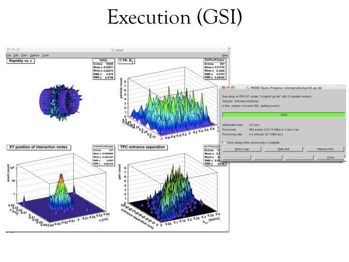 Execution (GSI)
